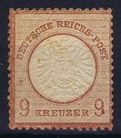 Deutsches Reich 1872 Mi Nr 27   GB   MH/* Falz/ Charniere - Ungebraucht