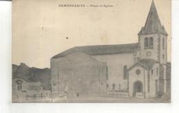 Armendaritz, Place Et Eglise - France