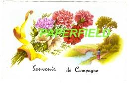 "Carte Fantaisie : ""souvenir De COMPOGNE"" - - Bertogne"