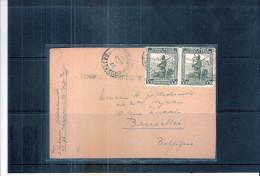 Carte Du Congo Belge De 1945 Vers La Belgique - Griffe Censure Congo Belge (à Voir) - 1923-44: Briefe U. Dokumente