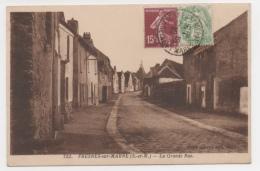 77 SEINE ET MARNE  - FRESNES SUR MARNE La Grande Rue - Frankreich
