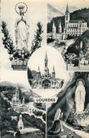 CPA Lourdes Multi Vues - Lourdes
