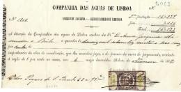 Compania Das Aguas De Lisboa. 20 Réis 1882 - Portugal