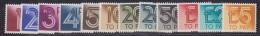Great Britain 1970/1975 Postage Due 12v ** Mnh (32723) - Strafportzegels