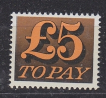 Great Britain 1973 Postage Due 1v ** Mnh (32723A) - Strafportzegels