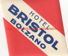 Hotel Bristol Bolzano - Etiquettes D'hotels