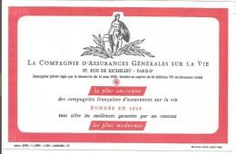 BUVARD COMPAGNIE D'ASSURANCES GENERALES SUR LA VIE - Blotters