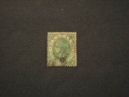NATAL - 1869/70 REGINA  1 Sh. - TIMBRATO/USED - South Africa (...-1961)