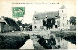 N°166 K -cpa Ouistreham -ferme Du Pavillon- - Fermes