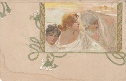 Illustrateur - R. Tafuri Venezia - Art Nouveau Femmes - Précurseur - Illustratori & Fotografie