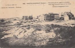 Belgique - Oostduinkerque - Panorama Pris Du Poste Du Belvédère - 1916 - Oostduinkerke