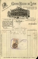 Thématique « POMPES FUNEBRES » - Document Commercial (petit Format) à Entête De Lettre - A Voir – N° 19123 - Artesanos