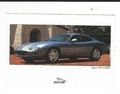 CPM  Automobile Jaguar XK8 Coupé Agence Dahan Concours élégance 1998 Série Limitée Neuve - Turismo