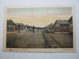 1916 , Camp De Zeist , Briefkaart  Naa Dänemark !!    2 Scan - 1891-1948 (Wilhelmine)