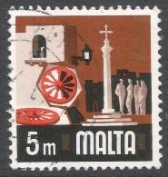Malta. 1973 Definitives. 5m Used. SG 488 - Malta