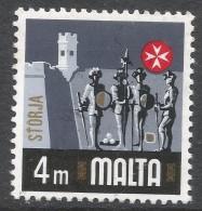 Malta. 1973 Definitives. 4m MNH. SG 487 - Malta