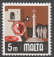 Malta. 1973 Definitives. 5m MNH. SG 488 - Malta