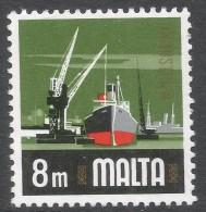 Malta. 1973 Definitives. 8m MH. SG 489 - Malta