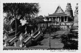 "¤¤  -  Carte-Photo  -   CAMBODGE    -   PHNOMPENH    -  Pagode "" D' Argent ""      -  ¤¤ - Cambodia"