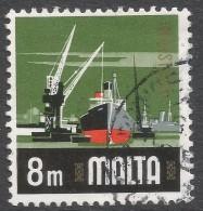 Malta. 1973 Definitives. 8m Used. SG 489 - Malta