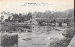 CPA 22 - Bon-Repos, Le Vieux Pont Près Gouarec - Frankreich