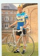 Luc DE DECKER . 2 Scans. Cyclisme. Marc Safir 1982 - Cyclisme
