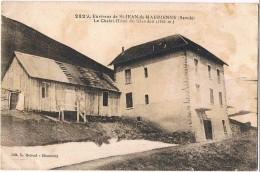 SAINT JEAN De MAURIENNE . 73 . Chalet  Hotel Du  Glandon . Environs  (tachée) - Saint Jean De Maurienne
