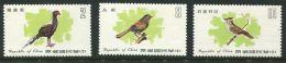 177 FORMOSE 1979 - Yvert 1247/49 - Oiseau - Neuf ** (MNH) Sans Charniere - 1945-... République De Chine
