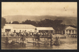 TIMOR PORTUGUÊS -  Ponte-Cais E Alfandega De Dili - Timor Oriental