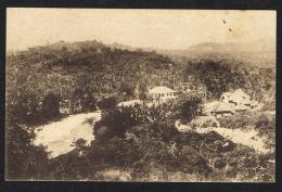 TIMOR PORTUGUÊS - Panorama De Viqueque (Comando) - Timor Oriental