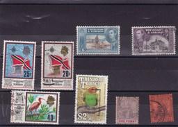 TRINITE  ET TOBAGO: Y&T : Lot De 8 Timbres Oblitérés - Trinidad Y Tobago (1962-...)