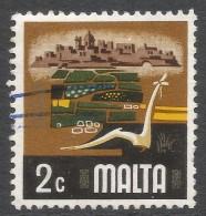 Malta. 1973 Definitives. 2c Used. SG 492 - Malta