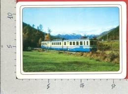 CARTOLINA VG ITALIA - VALLE VIGEZZO - Ferrovia Domodossola Locarno - 12 X 17 - ANN. 1997 - Eisenbahnen
