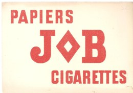 Buvard JOB Papiers JOB Cigarettes - Tobacco