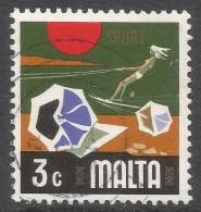 Malta. 1973 Definitives. 3c Used. SG 493 - Malta