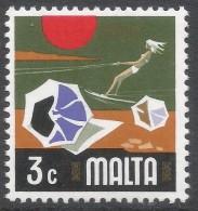 Malta. 1973 Definitives. 3c MNH. SG 493 - Malta