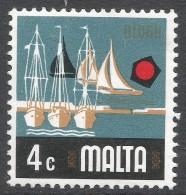 Malta. 1973 Definitives. 4c MNH. SG 494 - Malta