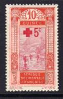 Guinée   N° 80 (.)  Au Profit De La Croix-Rouge Neuf Sans Gomme Sinon  TB