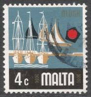 Malta. 1973 Definitives. 4c Used. SG 494 - Malta