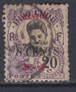 Canton N° 73 O  : 8 C. Sur 20 C. Violet  Oblitération  Légère, Sinon  TB