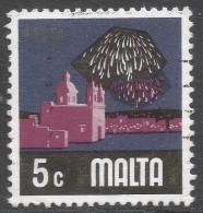 Malta. 1973 Definitives. 5c Used. SG 495 - Malta