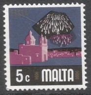 Malta. 1973 Definitives. 5c MNH. SG 495 - Malta