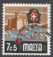Malta. 1973 Definitives. 7c5 Used. SG 496 - Malta