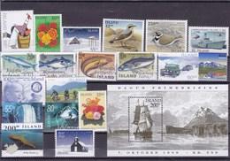 ISLANDE :  Y&T : Lot De 19 Timbres **+BF 24** - Collections, Lots & Séries