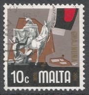 Malta. 1973 Definitives. 10c Used. SG 497 - Malta