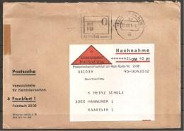 Brief/Cover 70er Jahre (zz457) Nachnahme/Postsache - BRD