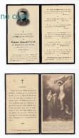 Lyon, Ecully, Mémento De Mme Edouard Payen, Née Marguerite Françoise Tresca, 24/03/1914, Souvenir Mortuaire - Devotion Images
