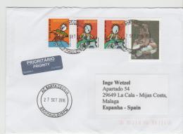 BRA149 / Brief Nach Spanien - Brazil