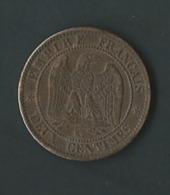 France - Second Empire - 2 Centimes Napoléon III Tête Laurée 1862 K. Pia20304 - B. 2 Centimes