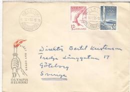FINLANDIA HELSINKI 1951 CC SELLOS JUEGOS OLIMPICOS  ATLETISMO